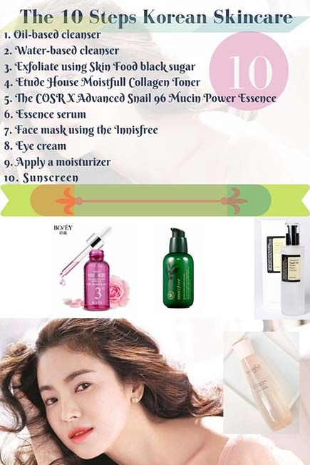 Best Korean Skincare Routine Products And Make Up Best Korean Skincareroutine Products Mak Skin Care Routine Order Korean Skincare Routine Skin Care Steps