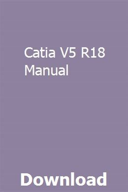catia v5 manual free download pdf