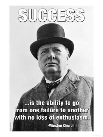 """The British Prime Minister Winston Churchill. It was on this day (June in 1940 that Winston Churchill gave his famous speech in which he urged his countrymen to take courage so that future generations would say, """"this was their finest hour. Citations Winston Churchill, Churchill Quotes, Great Quotes, Quotes To Live By, Life Quotes, Inspirational Quotes, Drake Quotes, Success Poster, Success Quotes"""