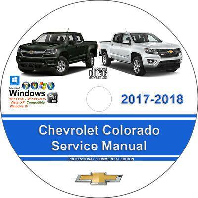 Advertisement Ebay Chevrolet Colorado 2017 2018 Factory Workshop