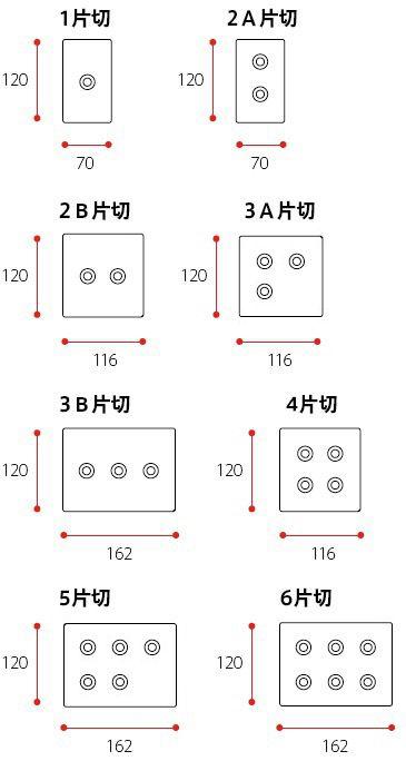 トグルスイッチ 照明 電気 テンポカスタム Math