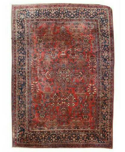 11x14 Vintage Hand Knotted Traditional Area Rug Ebay In 2020 Traditional Area Rugs Rugs Area Rugs