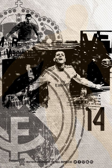 #CH14 Chicharito • Real Madrid #FootballInspiresUs #LigraficaMX