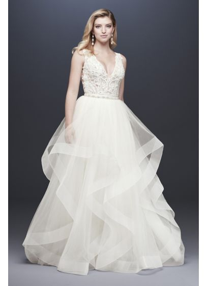 Long Separates Dress Alternatives Wedding Dress David S Bridal