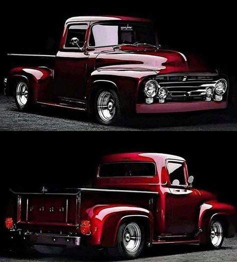 Chevy trucks aficionados are not just after the newer trucks built by Chevrolet. They are also into oldies but goodies trucks that have been magnificently preserved for long years. Ford Classic Cars, Classic Chevy Trucks, Classic Muscle Cars, Chevy Classic, Custom Classic Cars, Custom Trucks, Custom Cars, Cool Trucks, Cool Cars