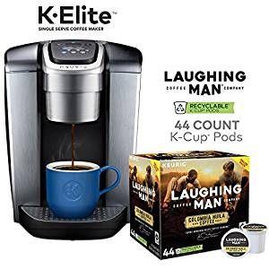 Prime Day Keurig K Elite Brushed Silver Single Serve Coffee