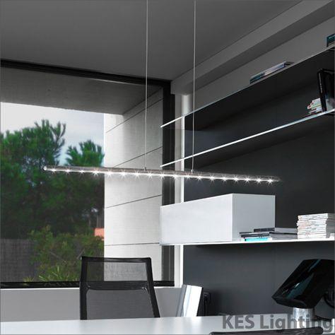 fabulous design ledaggio dimmable designer led bar pendant led rh pinterest co uk
