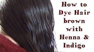 How To Use Henna And Indigo To Dye Your Hair Black And Brown