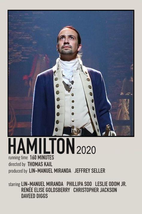hamilton movie print