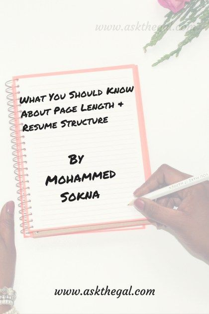 Qudsia Ehtram A Role Model for Struggling Freelancers - resume page length
