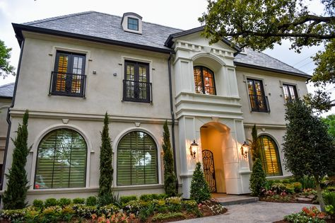 Updated French Estate In Preston Hollow Bella Vita Custom Homes