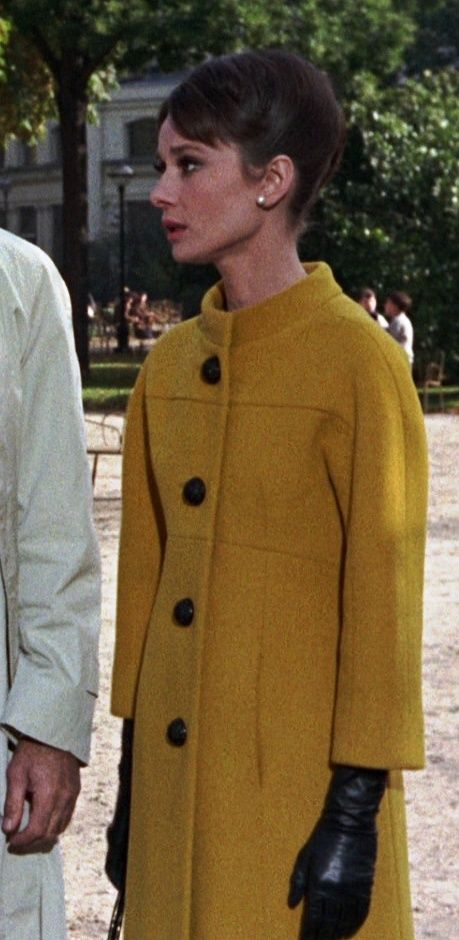 Audrey Hepburn In Givenchy   'Charade' fashion On