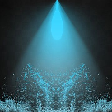 Blue Light Ray On Water Splash With Ripples Blue Light Light Fx Water Light Png Transparent Clipart Image And Psd File For Free Download Light Rays Light Blue Background Simple Lighting