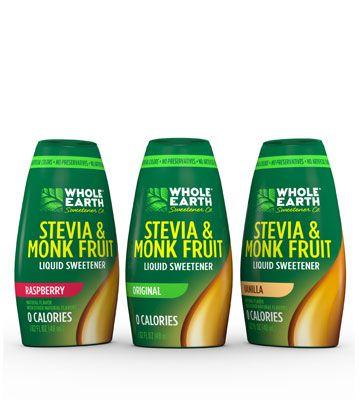 Stevia Monk Fruit Blend Liquid Original Stevia Soda Stream