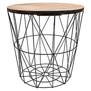 Beistelltisch In 2020 Beistelltisch Garten Korb Tisch Und Beistelltisch Metallkorb