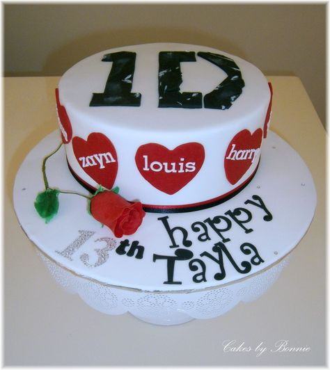 One Direction cake made by Cakes by Bonnie