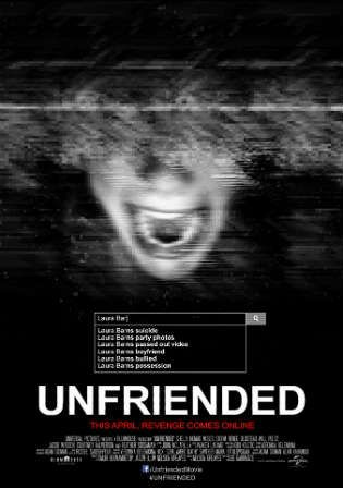 Unfriended 2014 Brrip 280mb Hindi Dual Audio 480p Free Movies