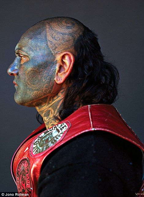Artist Jono Rotman discovered that there& more to gang members than violence and mayhem when he photographed New Zealand& Mighty Mongrel Mob.