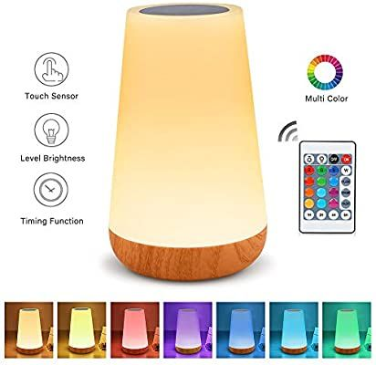 Table Lamp Touch Night Light Portable Sensor Remote Control Bedside Lamps With Quick Rechargeable Usb In 2020 Table Lamps For Bedroom Bedside Lamp Touch Table Lamps