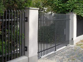 Bildergebnis Fur Mullhaus Im Zaun Zaune Metall Moderner Zaun
