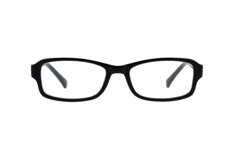 864bfaec2352 Black Simple Rectangular Eyeglasses  234321
