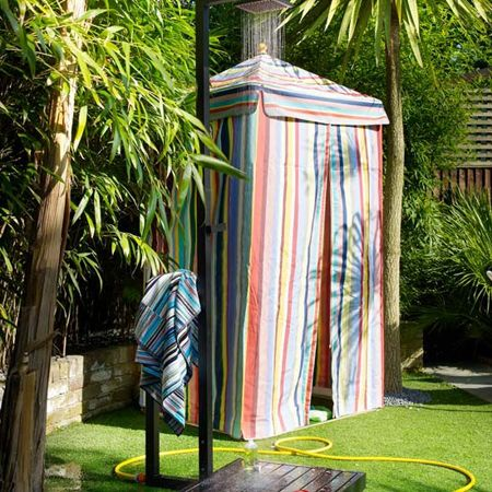 Outdoor Showers 1 1 A Stand Alone Outdoor Shower Is The Least