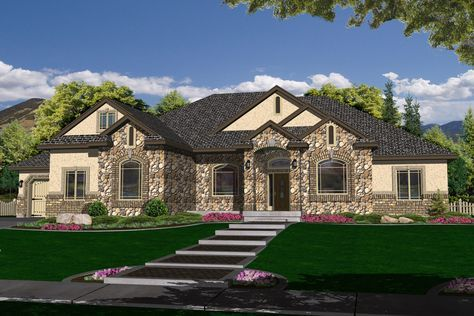 R 2282a Hearthstone Home Design New House Plans Craftsman House Plans House Design
