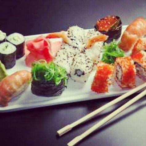 I 3 Sushi Sushi Kochen Lebensmittel Essen Sushi Rezepte