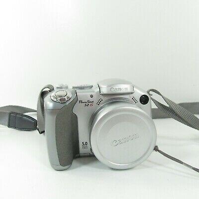 Canon Powershot S2 Is 5 0mp Digital Camera Silver 1 Digital Camera Camera Powershot