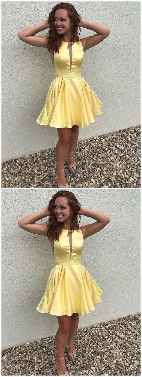988d0f97c8 Simple Mini Green Homecoming Dresses Cheap A Line Junior Homecoming Dress  ARD1559