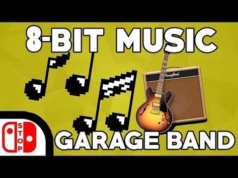 2) How To Make 8-BIT Music and SFX In GARAGE BAND (2017