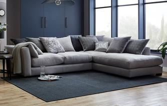Beresford Pillow Back Left Hand Facing Arm Large Corner Group Beresford Fabric Sofa Corner Sofa Dfs Corner Sofa