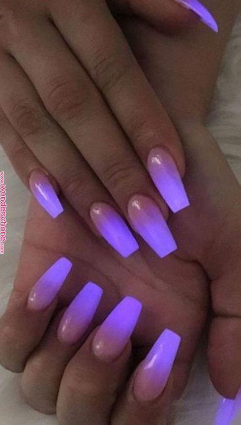 Pin by Marissa Gamboa on Nail ideas in 2019 | Nail art, Nail designs, Glow nails      Pin by Marissa Gamboa on Nail ideas in 2019 | Nail art, Nail designs, Glow nails
