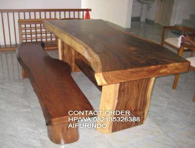 Furniture Trembesi Jepara Jual Meja Kayu Suar Solid Wood Indonesia