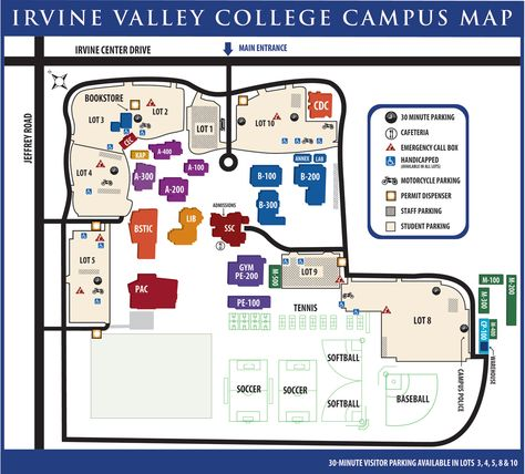 Top Ivc Campus Map Ideas Printable Map New Bartosandrini Com