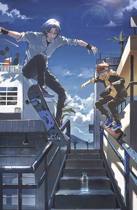 17 ideas de SK8 en 2021 | wallpaper de anime, fondo de ...