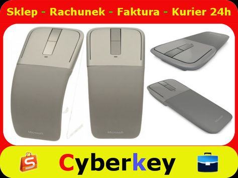 Myszka Microsoft Arc Touch Bluetooth 5402142625 Oficjalne Archiwum Allegro Bluetooth Microsoft Electronic Products