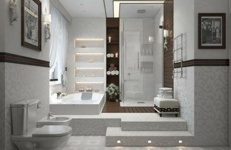 1001 Ideen Fur Badbeleuchtung Decke Effektvolle Und