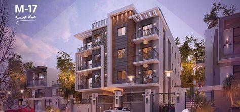 شقق للبيع بالقاهرة الجديدة بمشروع رونزا M17 House Styles Mansions Building