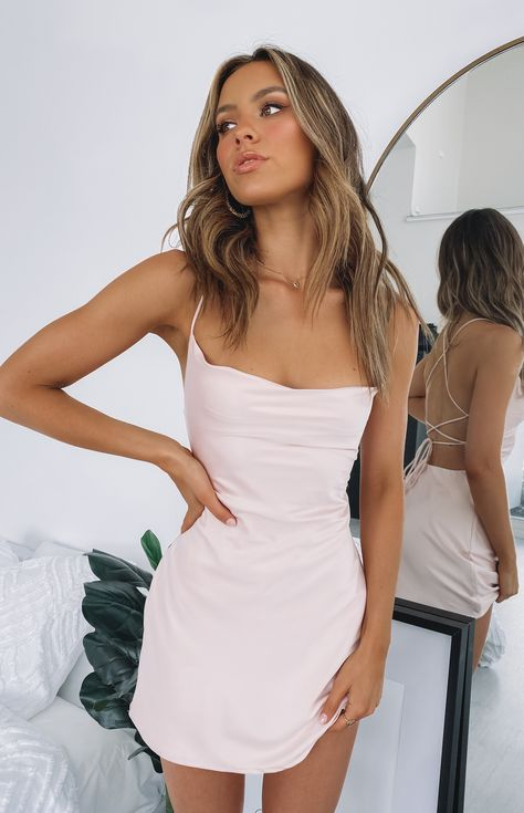 Come And Get It Party Dress Blush – Beginning Boutique Pink Party Dresses, Short Party Dresses, Short Tight Dresses, Cute Dresses For Party, Dress Party, Tight Fitting Dresses, Simple Party Dress, Party Dress Outfits, Blush Dresses