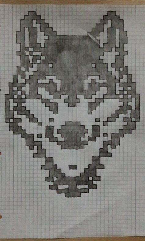 Should i try to draw this? I have graph paper :O #cutedrawing #cute #drawing #diy
