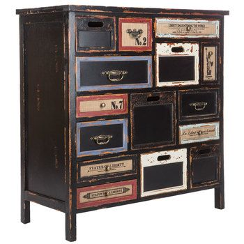 Black Cabinet With Rustic Drawers Hobby Lobby Furniture Black
