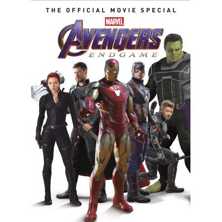 Avengers: Endgame - The Official Movie Special (Hardcover) - Walmart.com