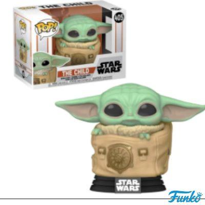 Funko Star Wars Baby Yoda The Mandalorian Pop! Bobbleheads - The Child in Bag