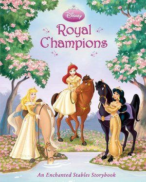 24X36 RIDIN/' ROYAL HORSES DISNEY PRINCESS POSTER