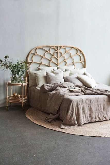 So Many Boho Headboards Pretty Real Boho Headboard Rattan
