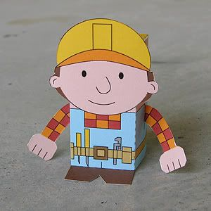 Toy A Day Day 55 Bob The Builder Bob The Builder Construction Theme Party Handy Manny Party