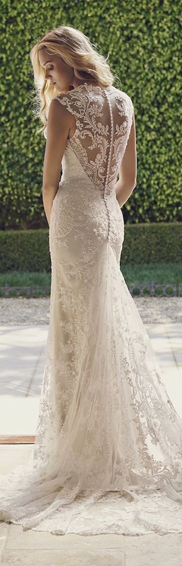 64205d1cd37a 106 Best Wedding Gowns With Illusion Necklines & Backs images | Wedding  dress necklines, Alon livne wedding dresses, Dress wedding