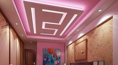 55 Modern Pop False Ceiling Designs For Living Room Pop Design Images For Hall 2019 Pop False Ceiling Design False Ceiling Design Ceiling Paint Design Bedroom modern pop design