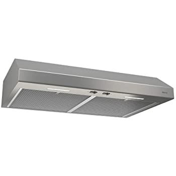 Amazon Com Broan Nutone Bcsd130ss Glacier Range Hood With Light Bcsd 30 Inch Stainless Steel Appliances In 2020 Broan Range Hood Stainless